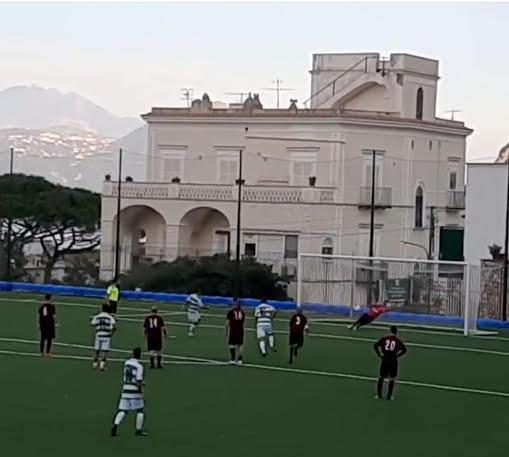 Un Sant'Egidio al bacio, cinque i gol rifilati alla Caprese
