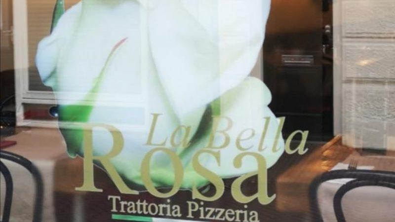 LA BELLA ROSA IL RISTORANTE ITALIANO IN OLANDA COL TRICOLORE IN TAVOLA
