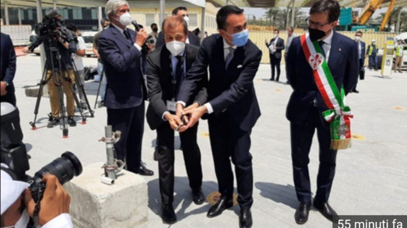 EXPO 2021 A DUBAI: IL MINISTRO DI MAIO INAUGURA IL PADIGLIONE CHE RAPRESENTA L'ITALIA