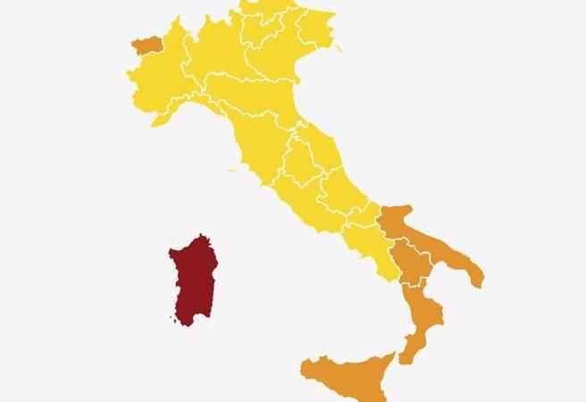 L'ITALIA A COLORI, SCENE DI ORDINARIE ORDINANZE, MA QUANTO DURERÀ?