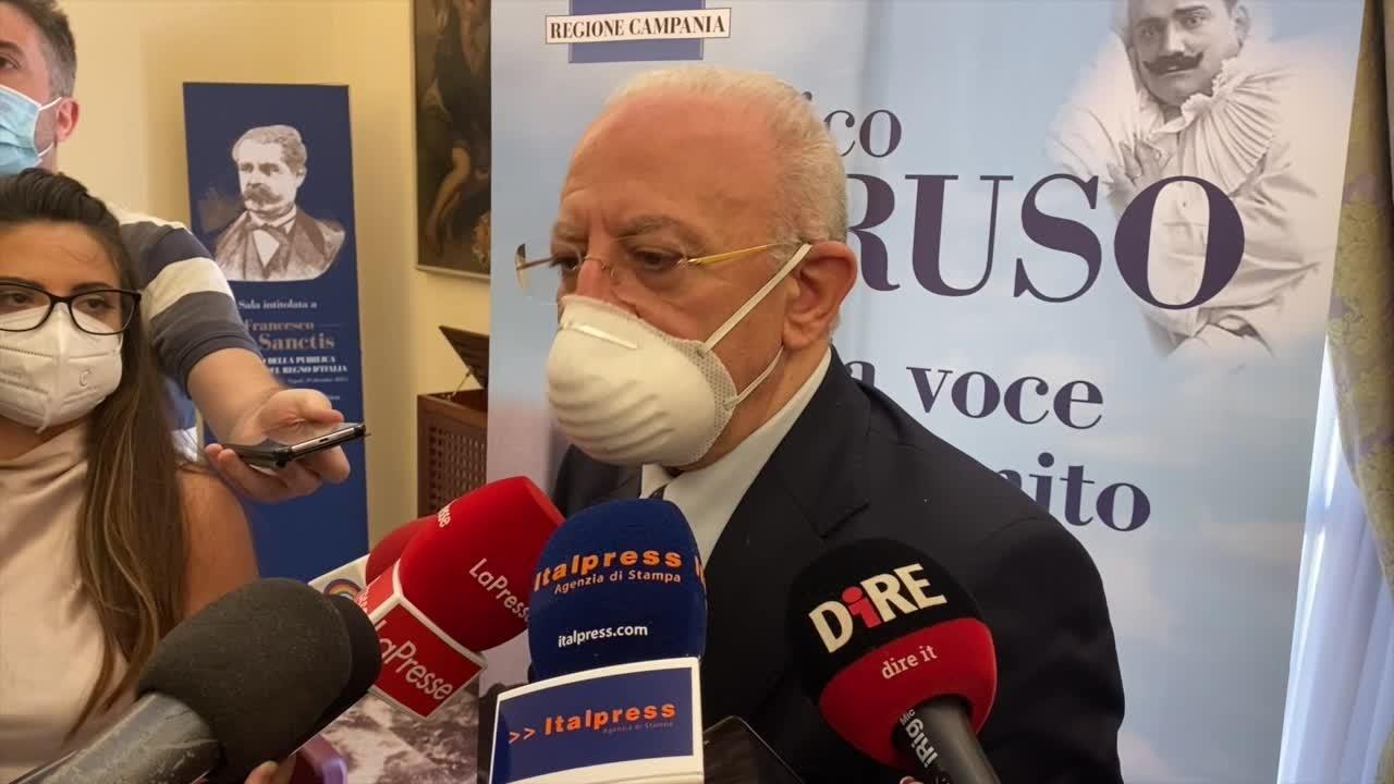 LA REGIONE DEDICA UN MESE A CARUSO I PIÙ BEI LUOGHI DELLA CAMPANIA PER L' INEGUAGLIABILE VOCE