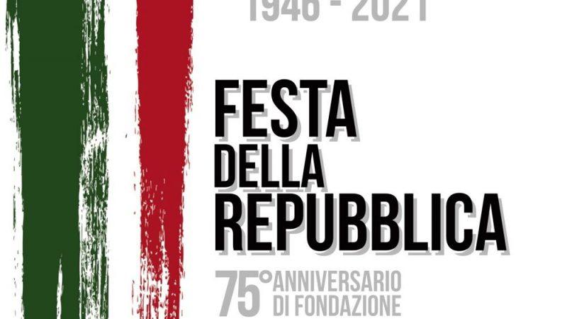 2 GIUGNO 2021, 75 ANNI DELLA REPUBBLICA ITALIANA