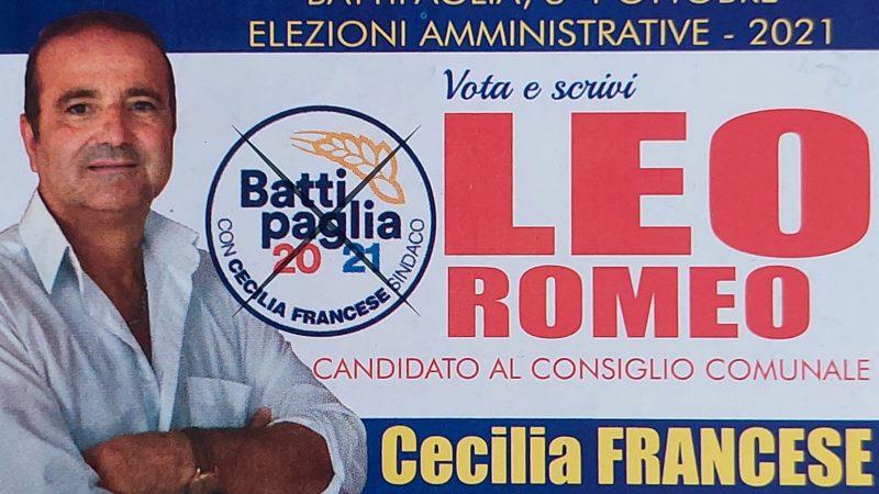 BATTIPAGLIA (SA) ELEZIONI AMMINISTRATIVE 2021, CON CECILIA FRANCESE ANCHE ROMEO LEO